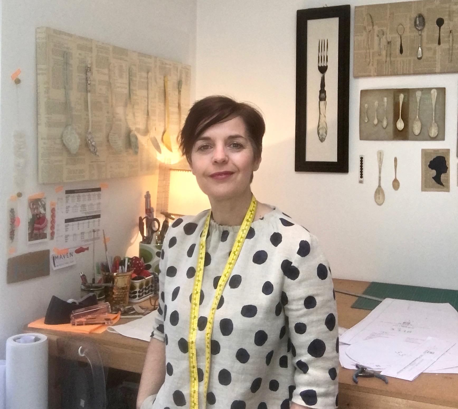 Sharon Mendham in her home studio