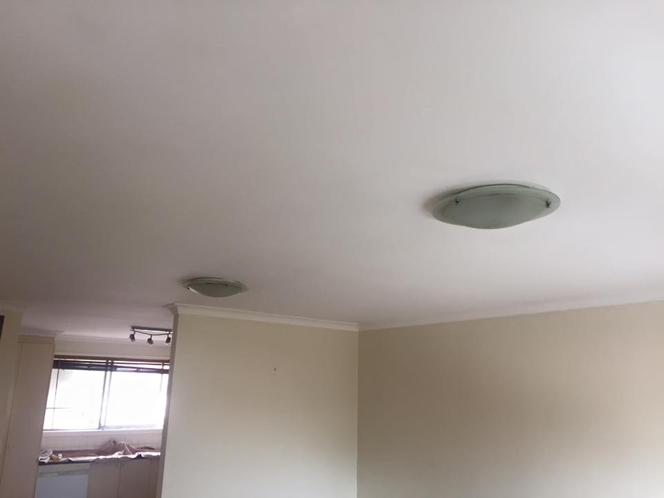Ceiling After Painting