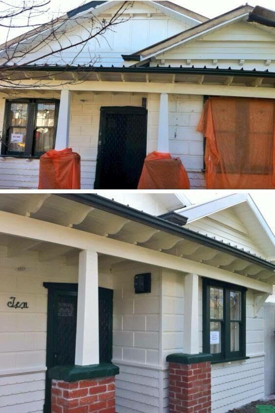 Before & After Painting