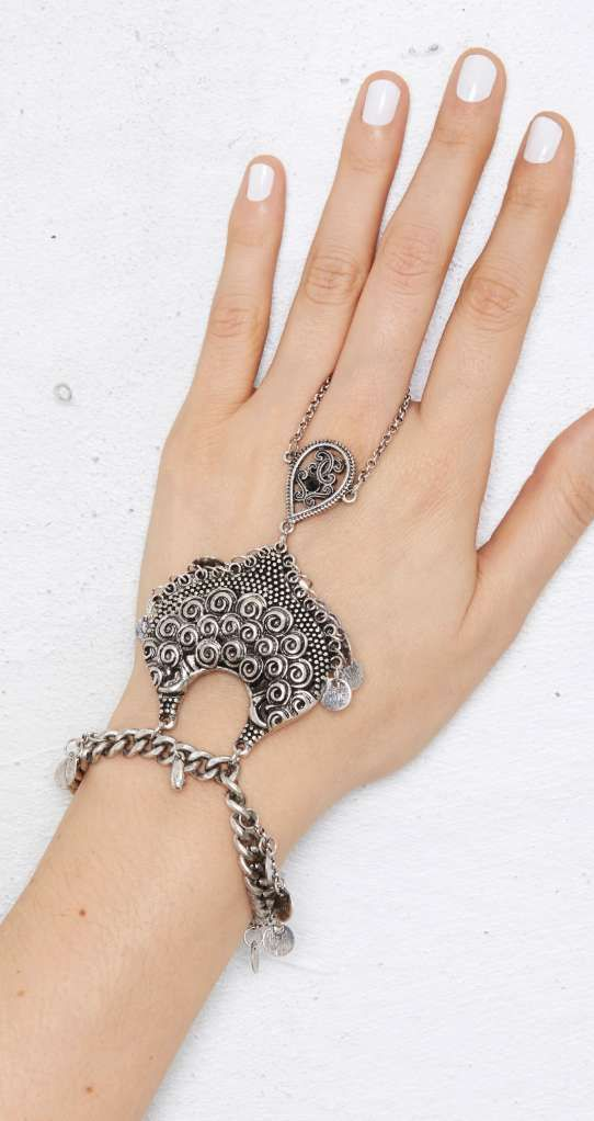 Hand Jewelry design sold to Nasty Gal