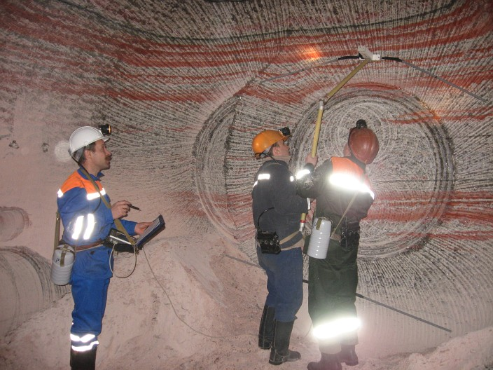 георадары грот в шахте