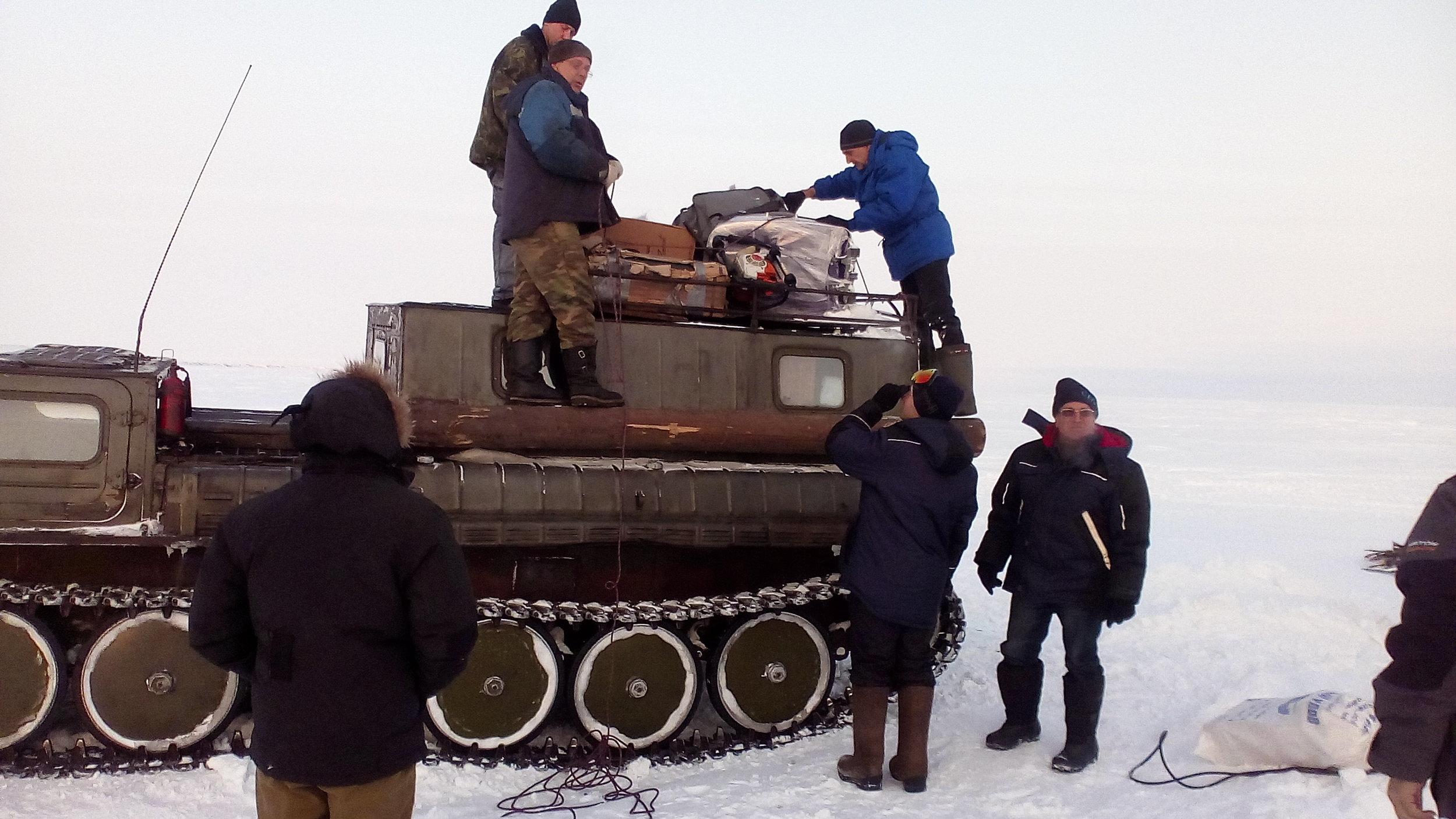 Bykovsky, expedition, gpr, timer llc