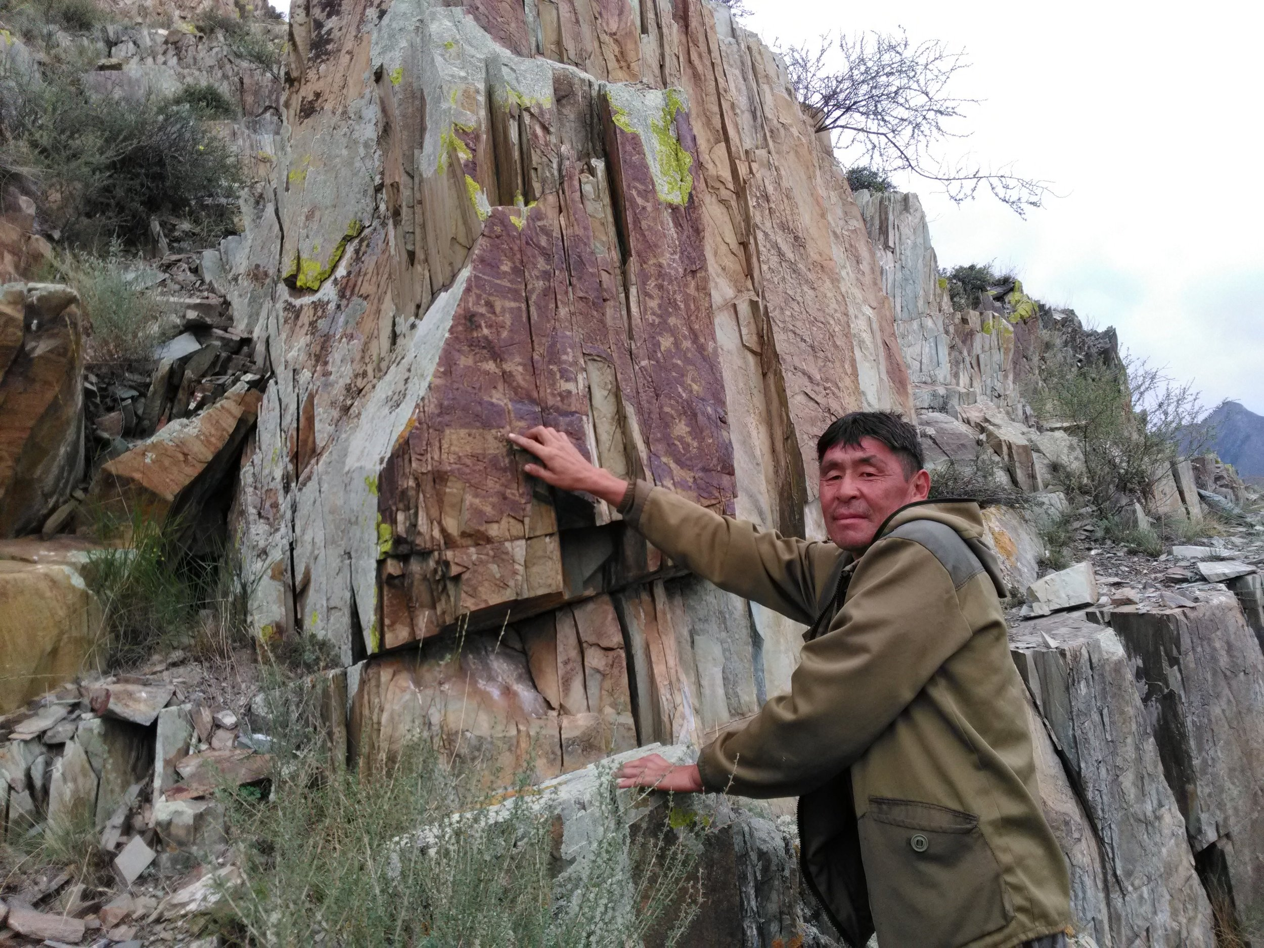 Ancient rock art