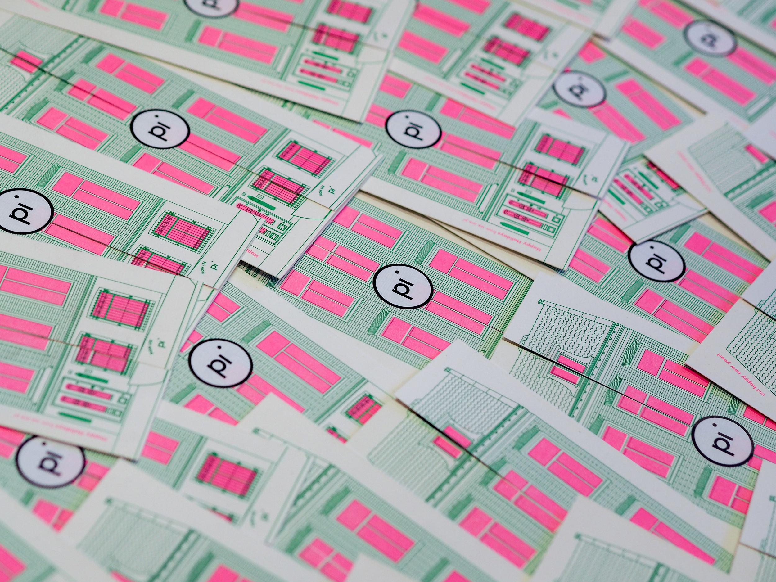 Fleur Ellis Risograph Print AGA Amsterdam