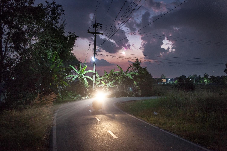 Dusk in Northern Thailand