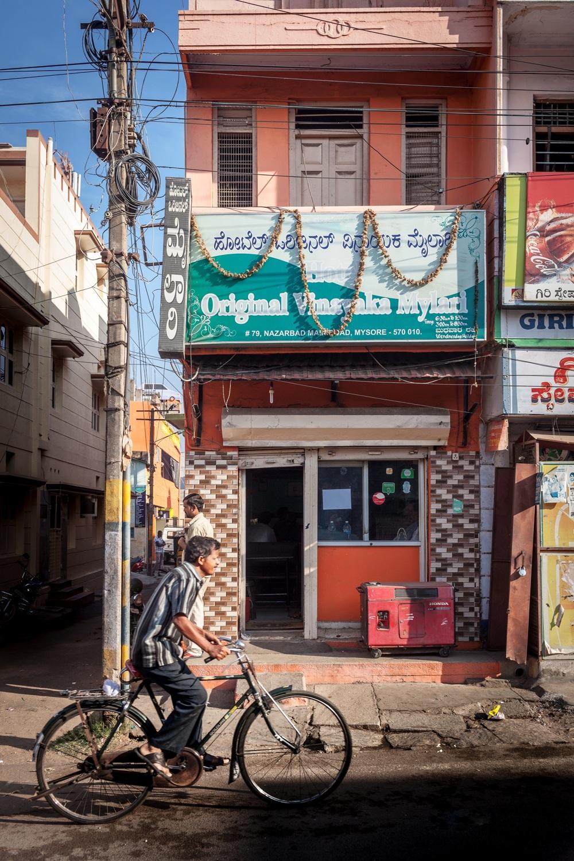 Hotel Original Vinayaka Mylari, Mysore ( for The Guardian )