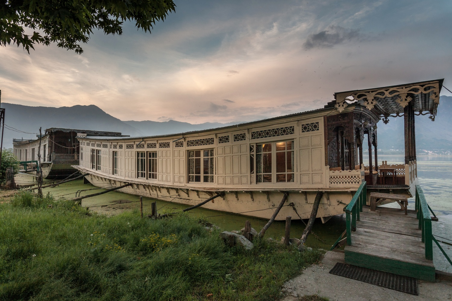 Butts-Claremont Houseboat, Srinagar, Kashmir