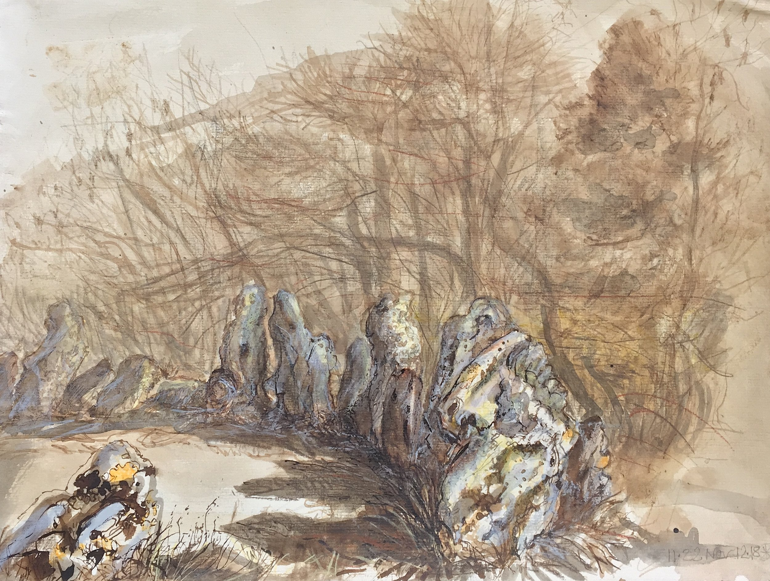 Larix, Pinus Sylvestris and Fraxinus - Feel the Stones