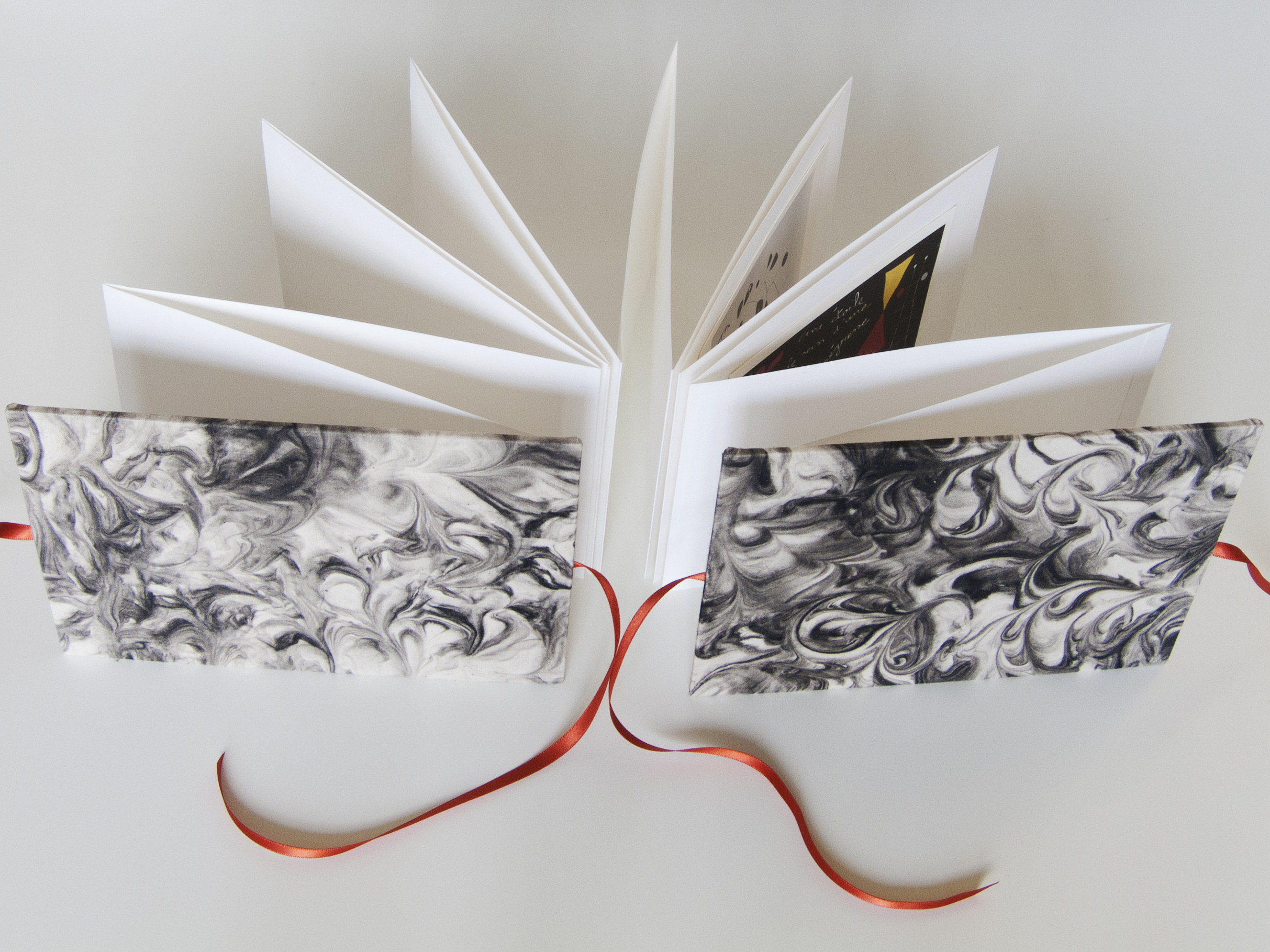 Ink Marbled Concertina Books - Look for future dates for this workshop