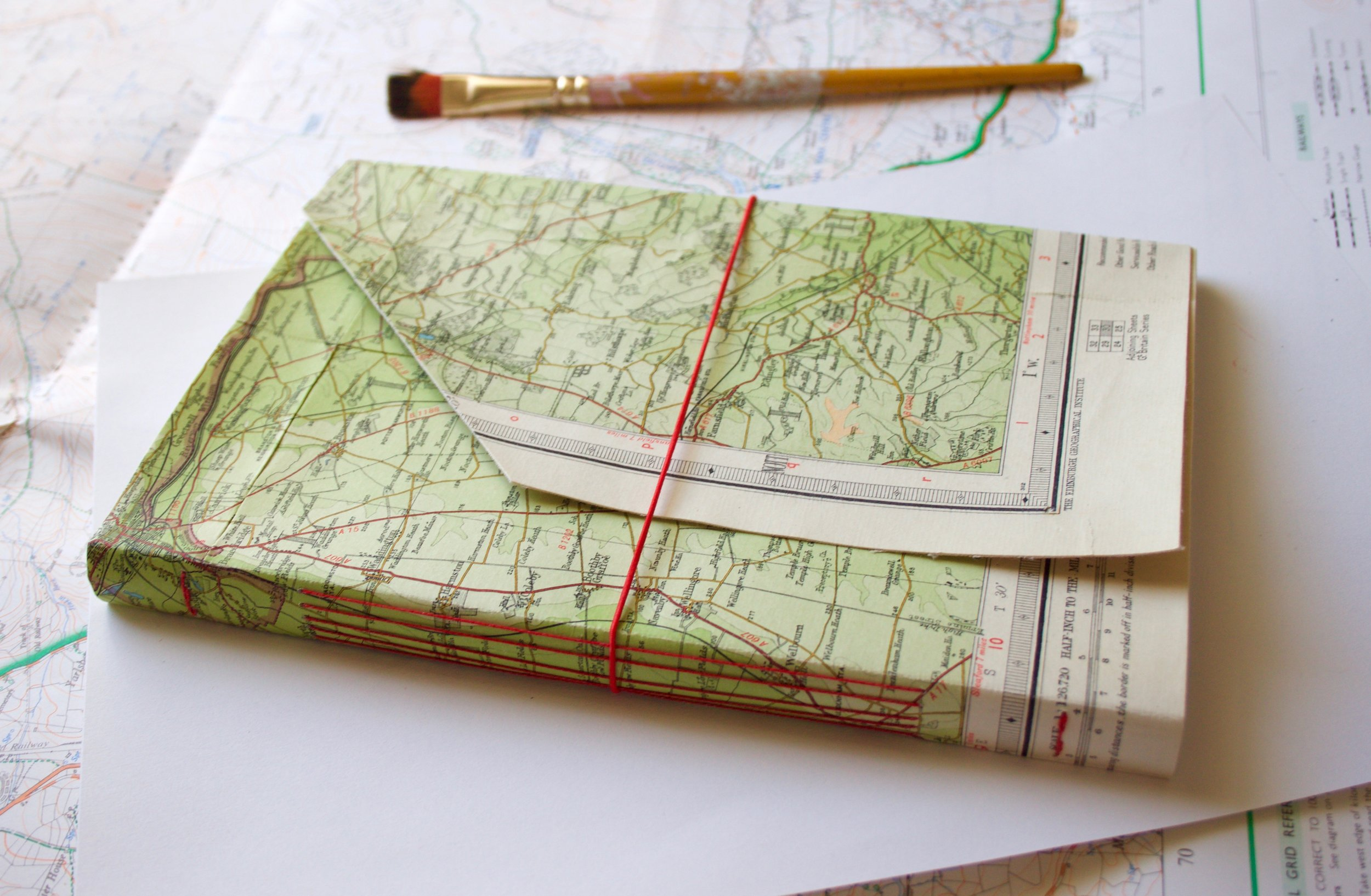 Long stitch Travel Journals - 28/9/19