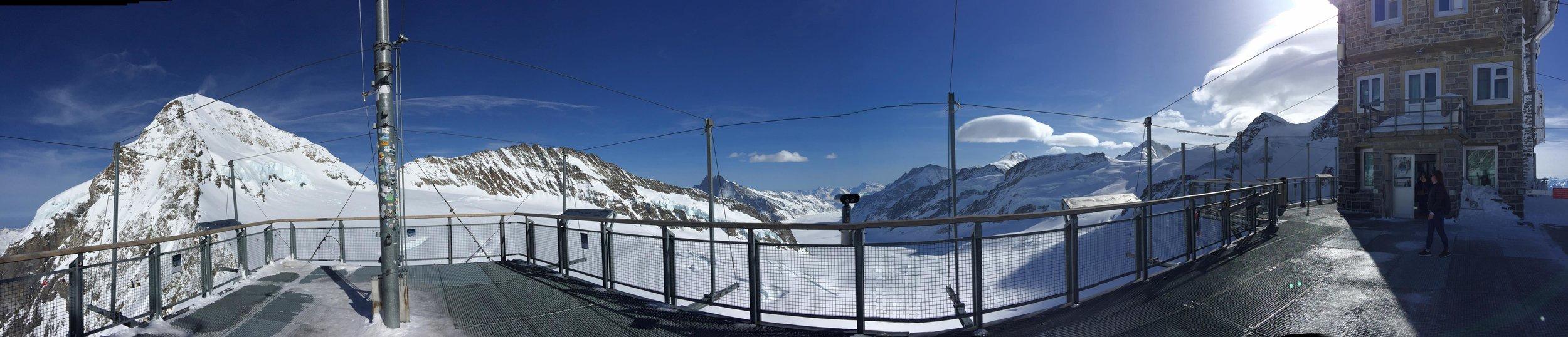 "Jungfraujoch ""Top of Europe"", March 2017"