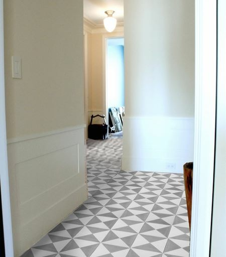 Copy of marble and cement tiles