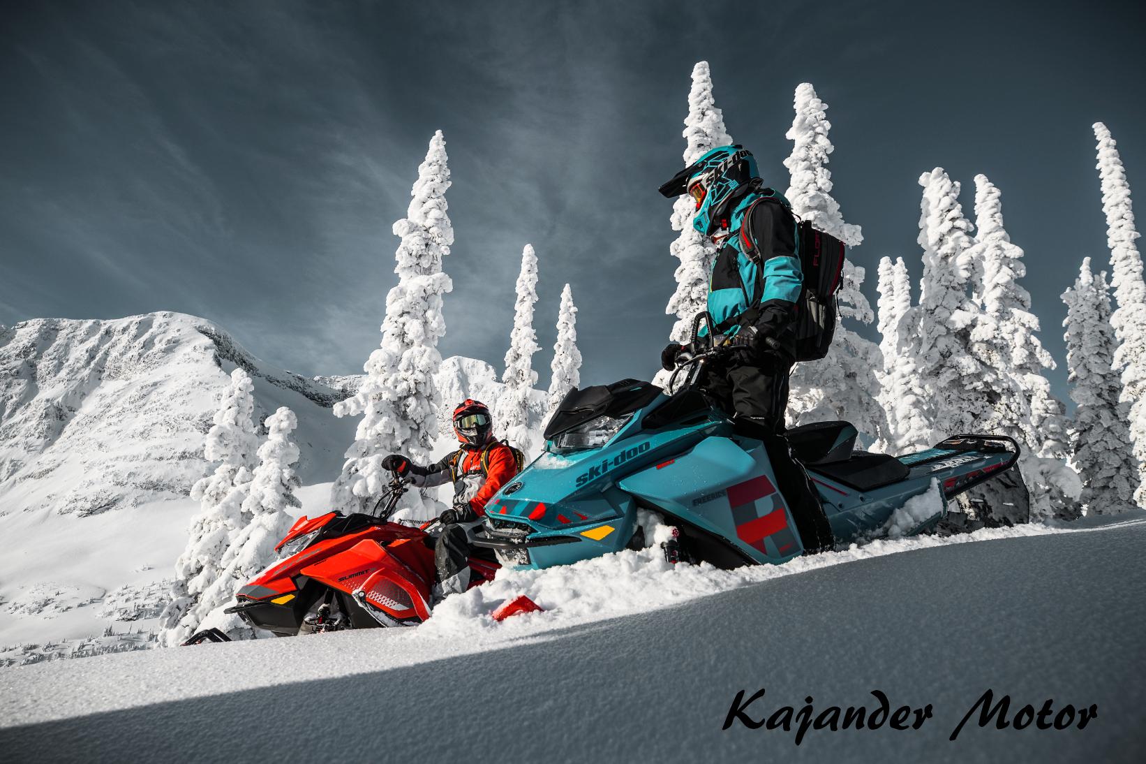 Ski-Doo 2019 freeride Kajander Motor