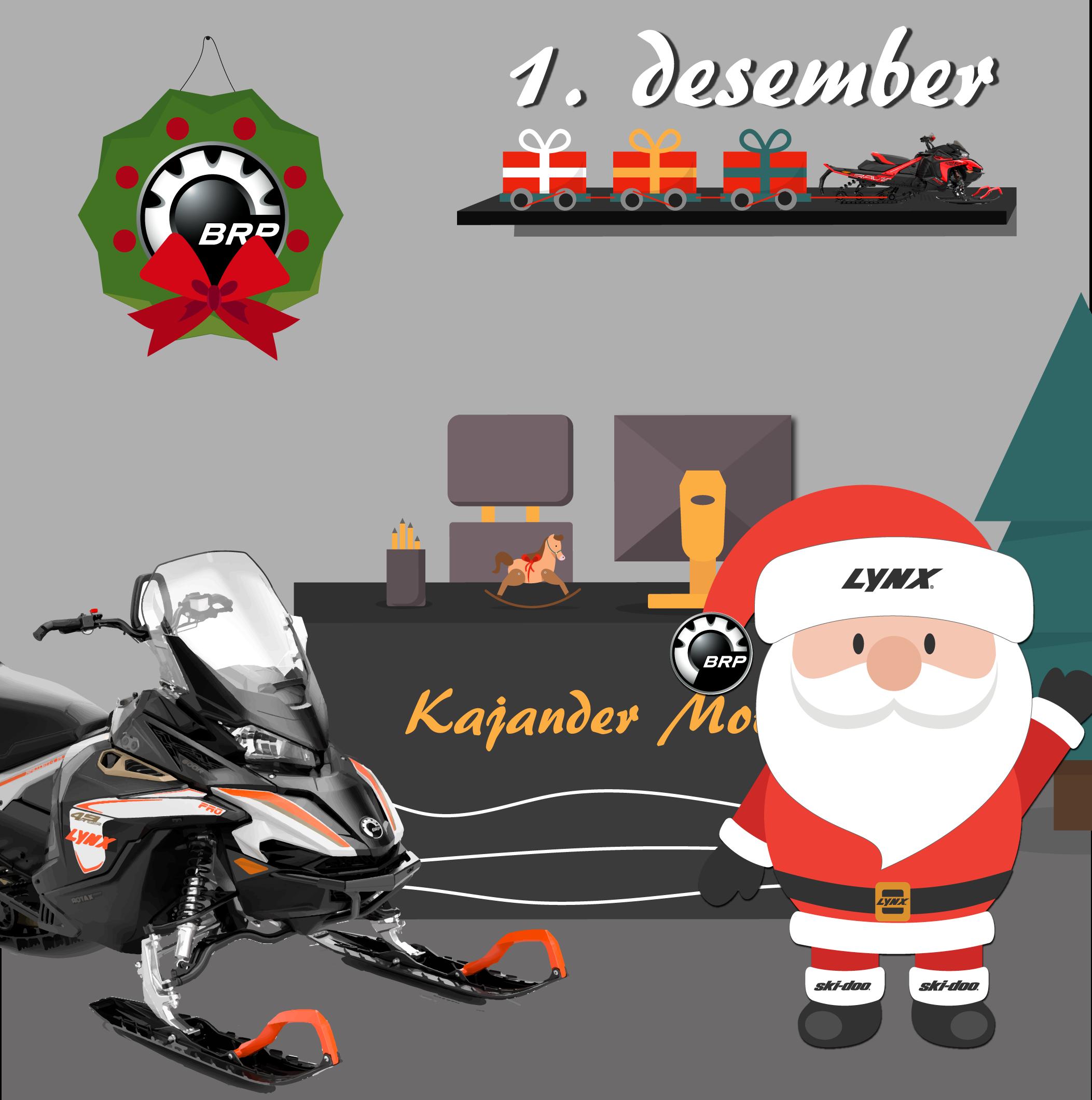 Julekalender Kajander Motor 1 Des