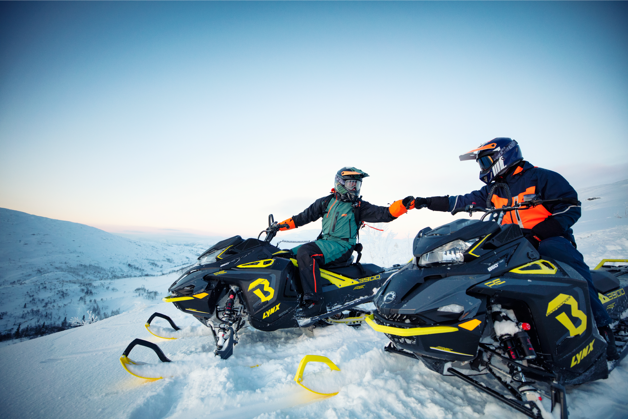 Lynx,  SKi Doo 2020 BRP on Tour