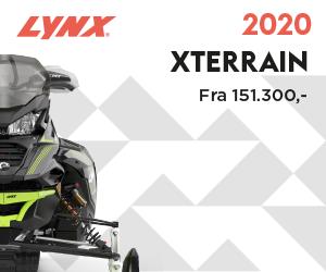 Xterrain 2020 en rå maskin med turbo 146 lang