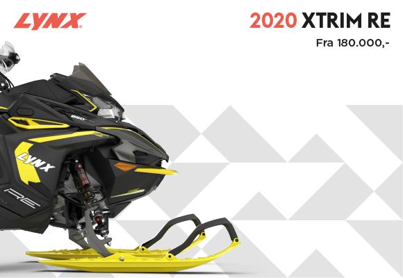 Lynx 2020 Xtrim Lek og morro i en maskin