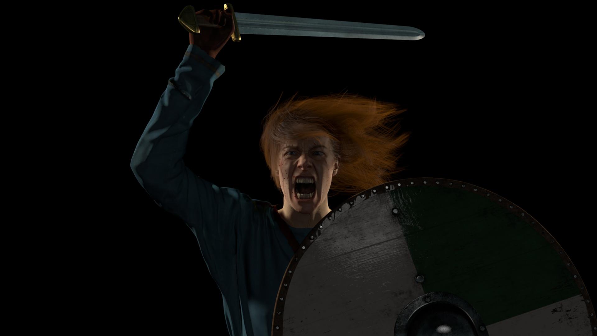 Final Viking Birka warrior