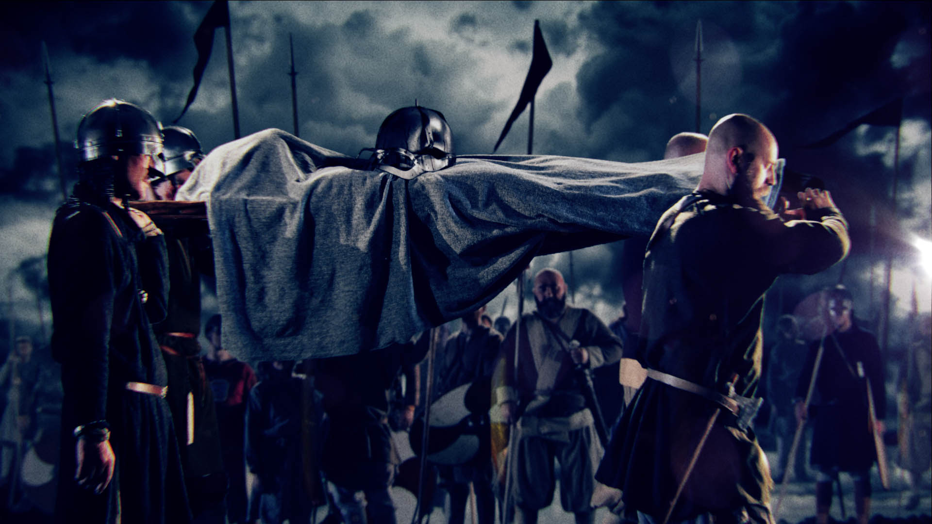 Funeral scene - final comp