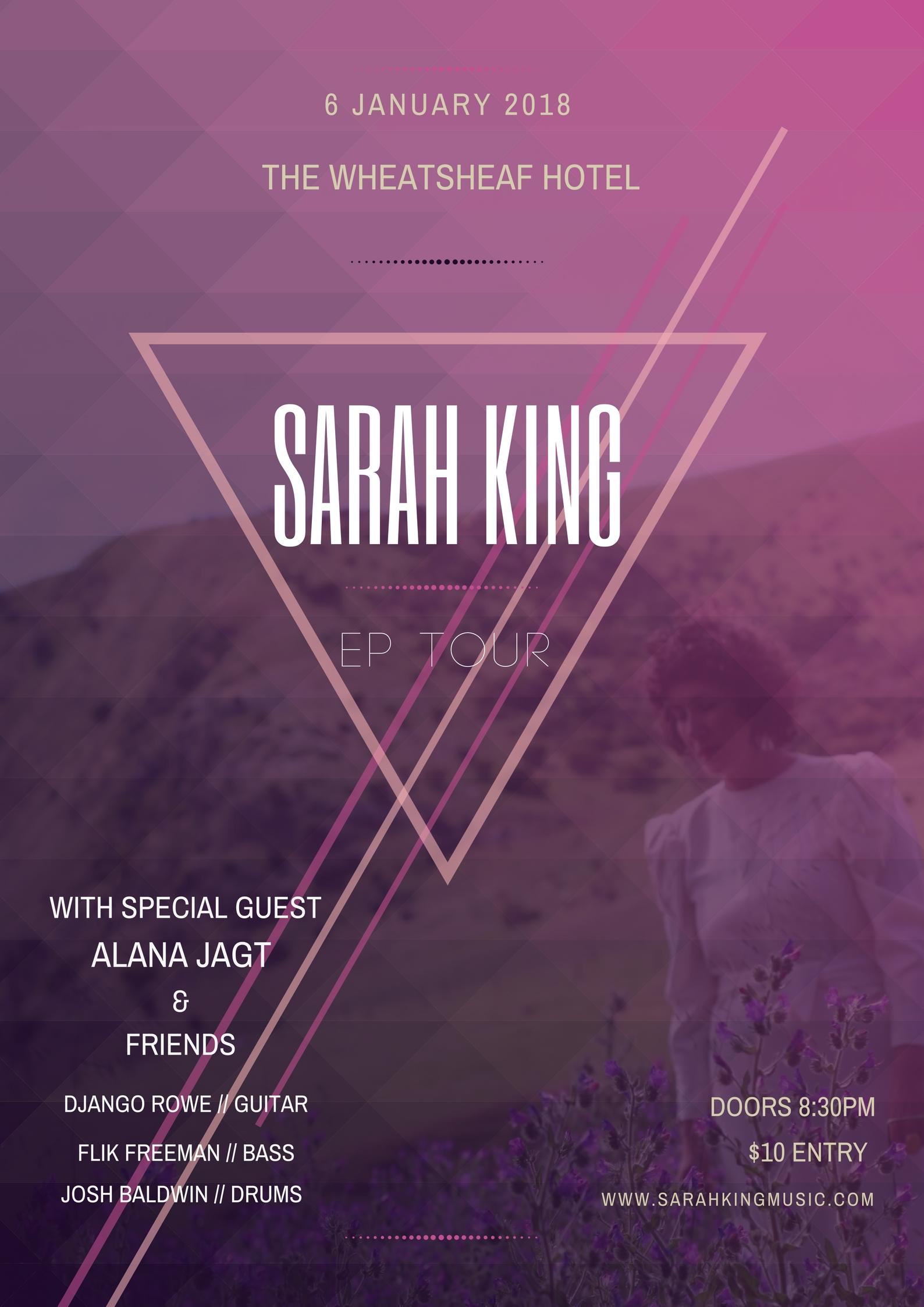 Sarah King EP Tour THE WHEATY JPG.jpg