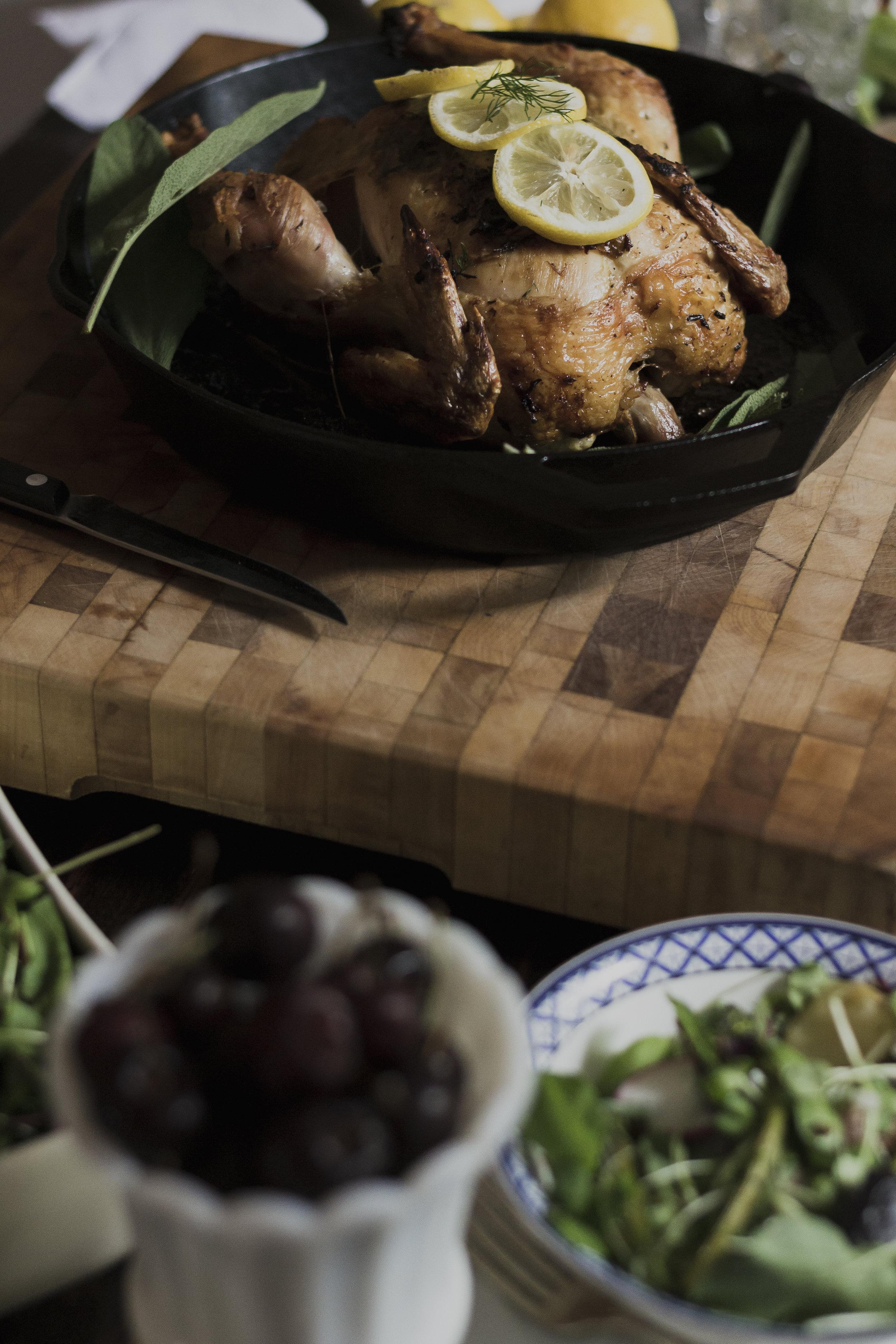 Roast Zuni Chicken
