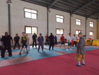Training in the Northern Shaolin Temple
