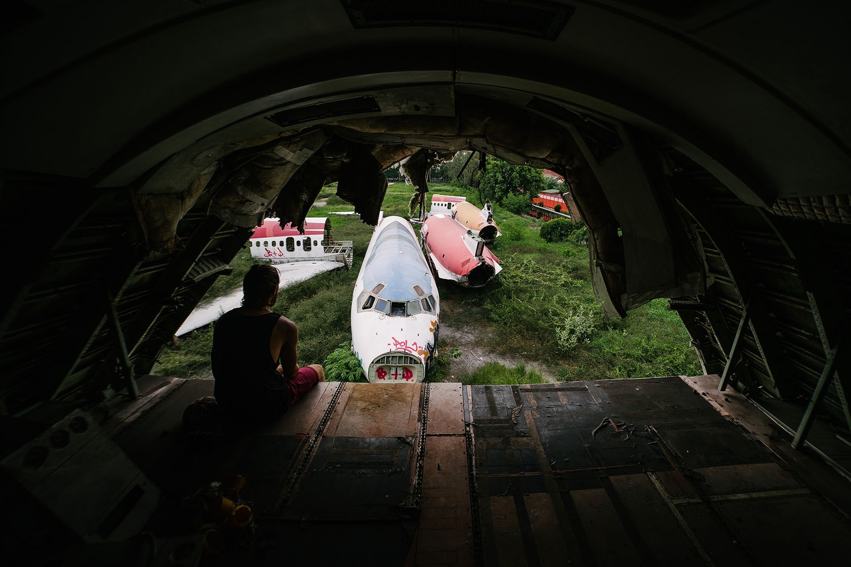 Many airlines send in the old fuselages of their planes to be recycled, and salvage any components which may be reused again – be it for a new plane, or something completely different. Not all planes get to be reincarnated though. Some end up all but forgotten in an open field for earth to reclaim.