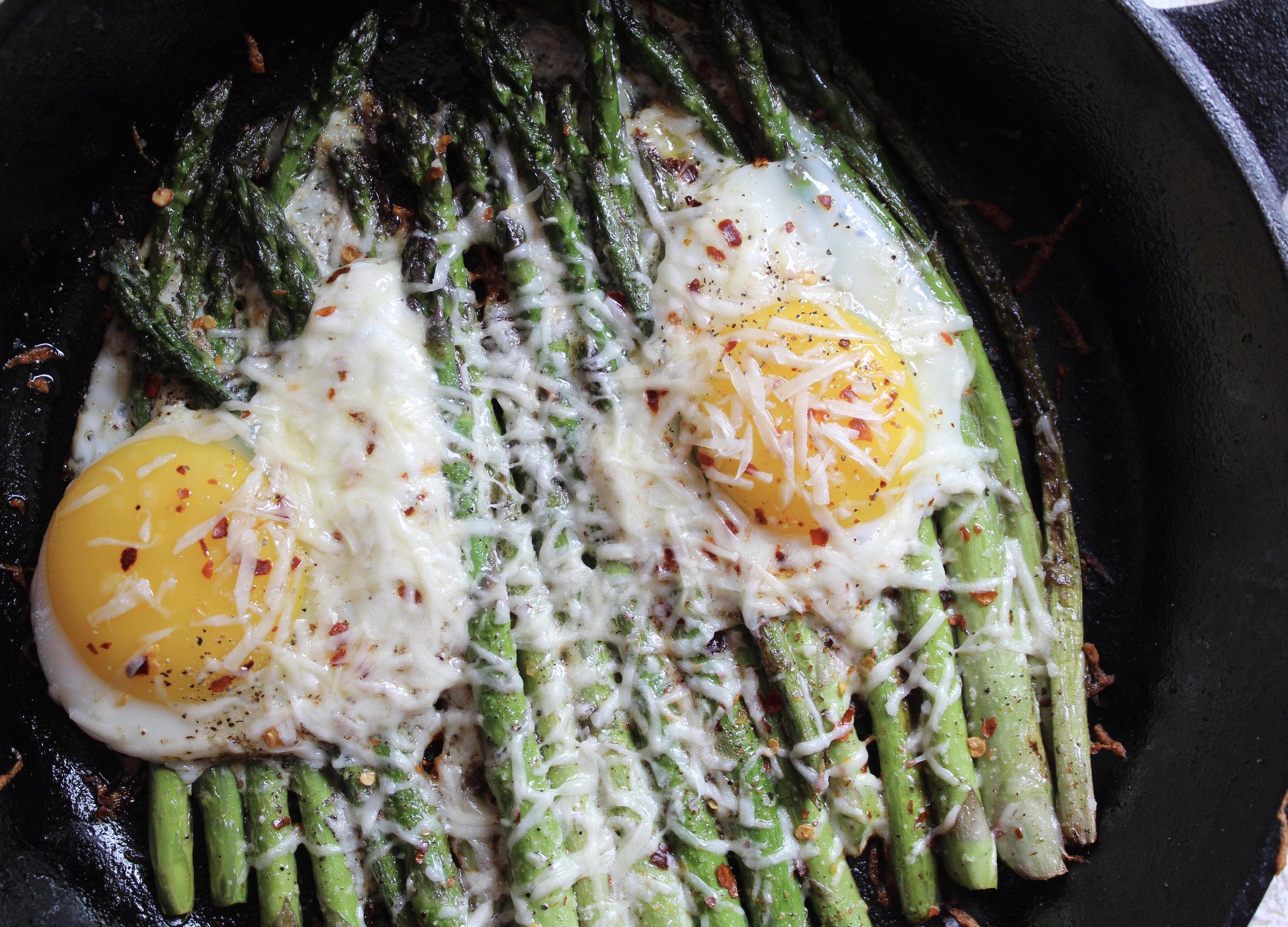 Crispy Skillet Asparagus & Eggs.jpg