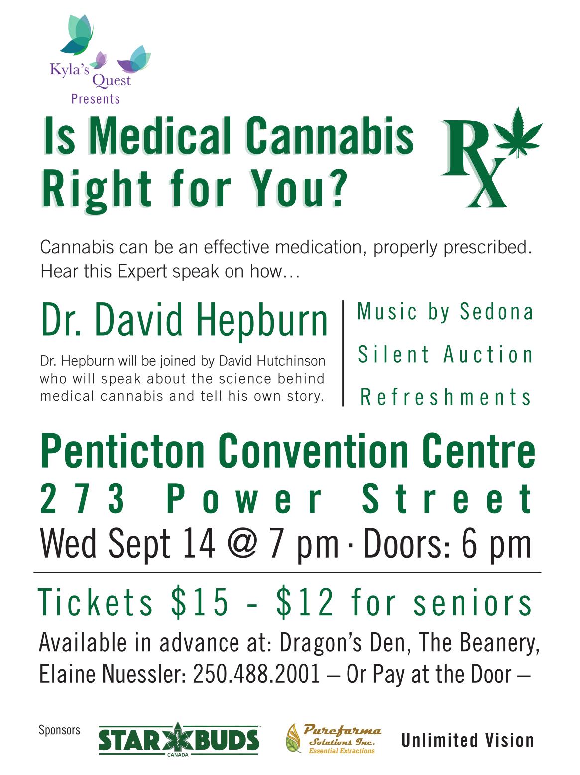 Medical Cannabis event Penticton