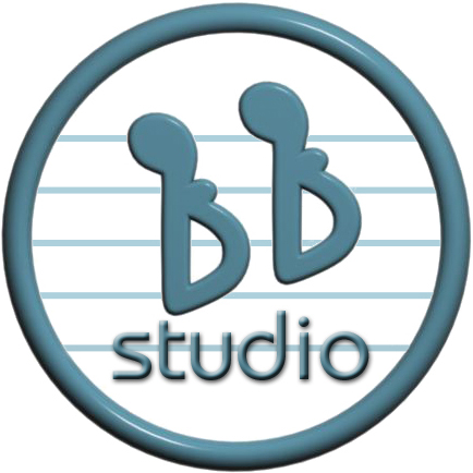 BB Studio logo for Pop Star Party