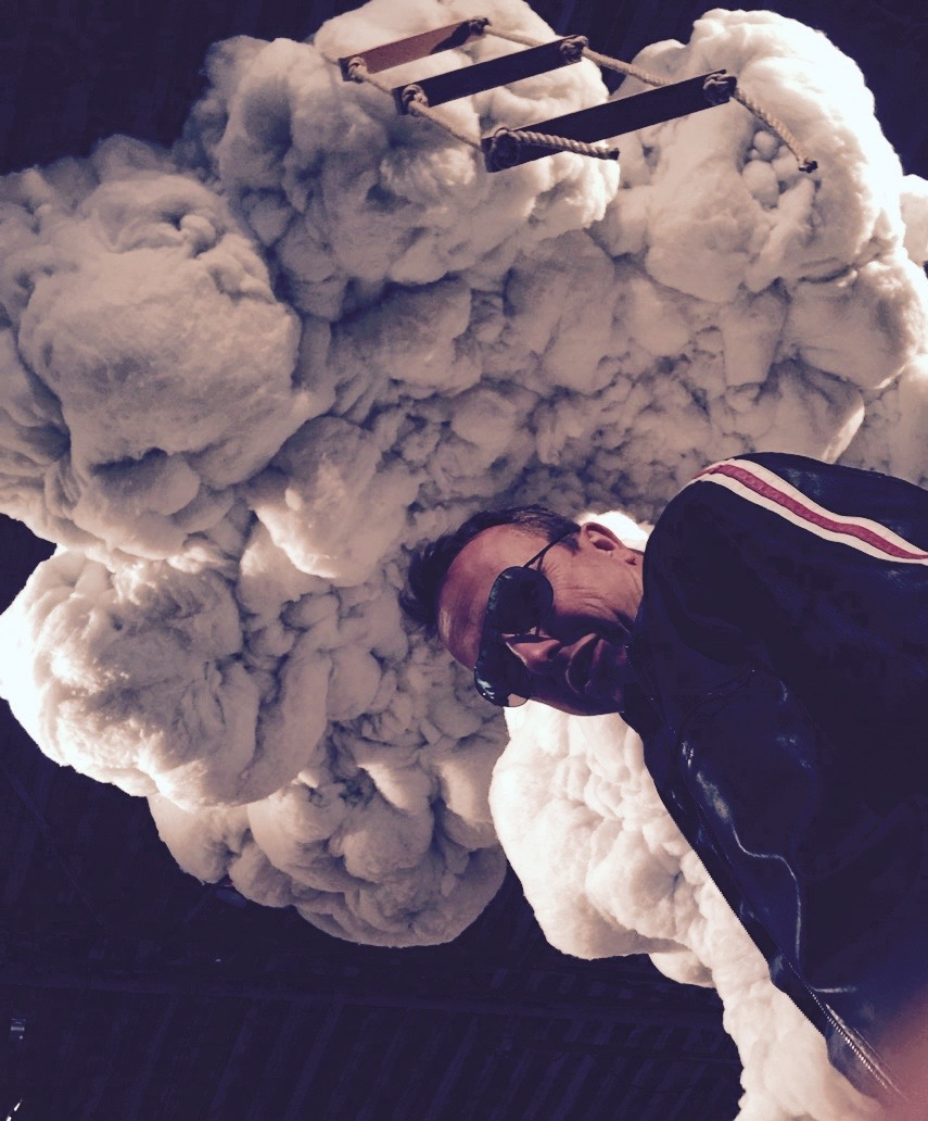 Roger with head in the clouds at Pop Star Party, Coventry
