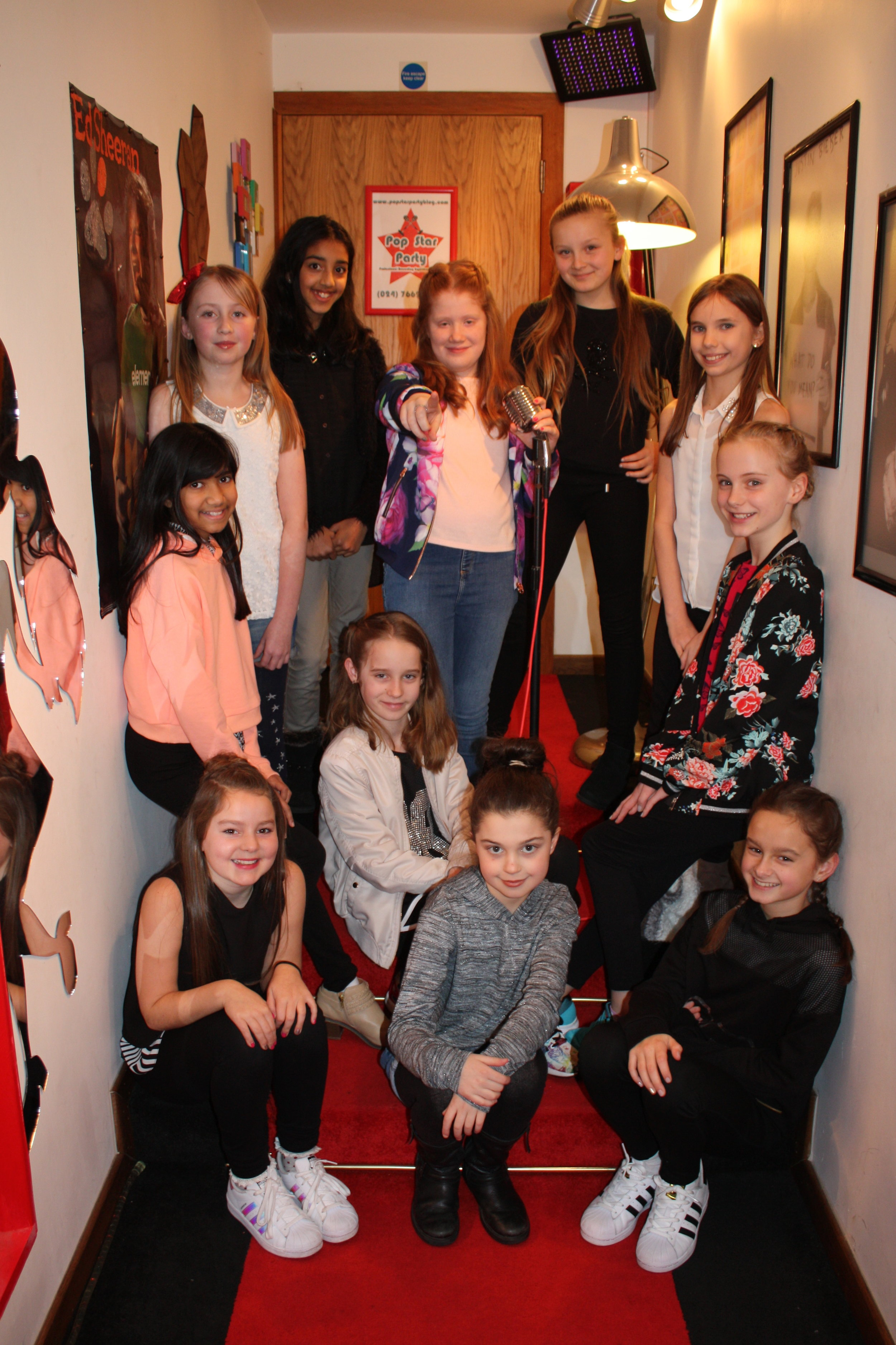 Red Carpet Photoshoot at Pop Star Party