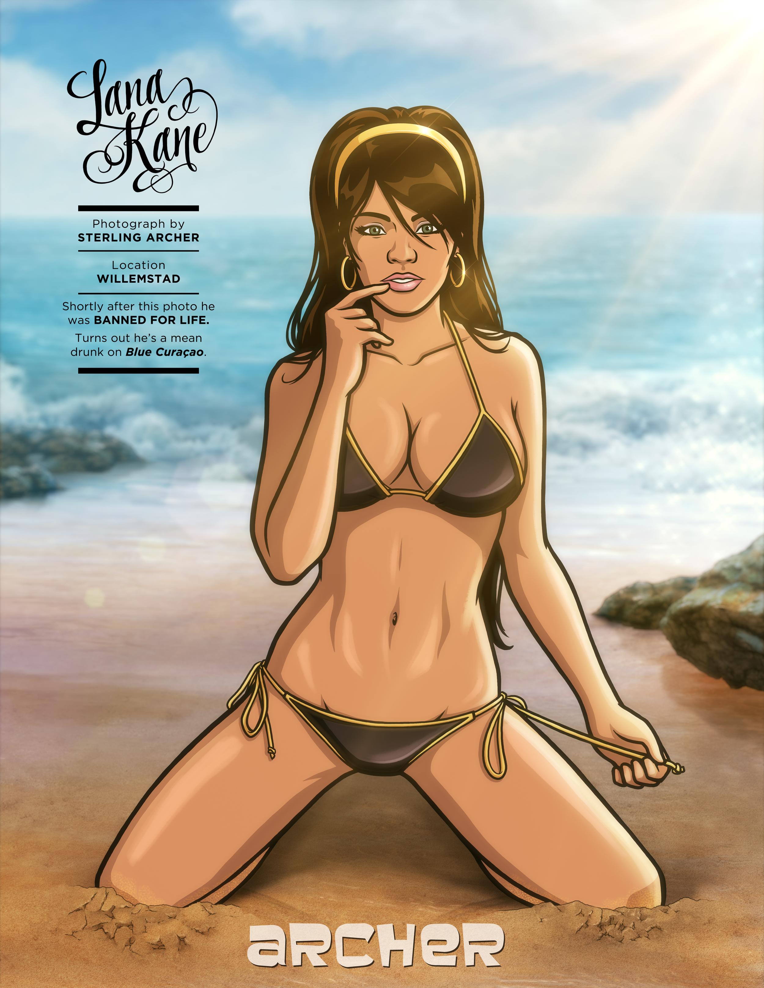 Sports Illustrated - Lana Kane