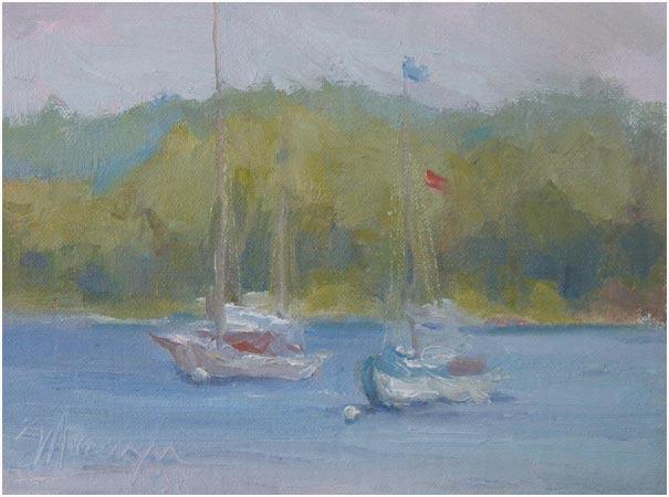 Sailboats, Fish Creek
