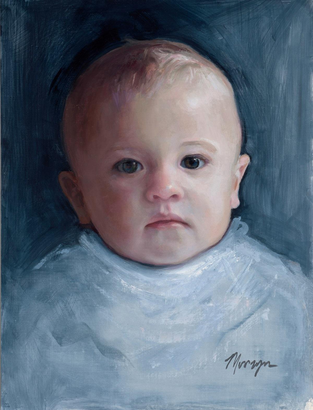 Nine month old child
