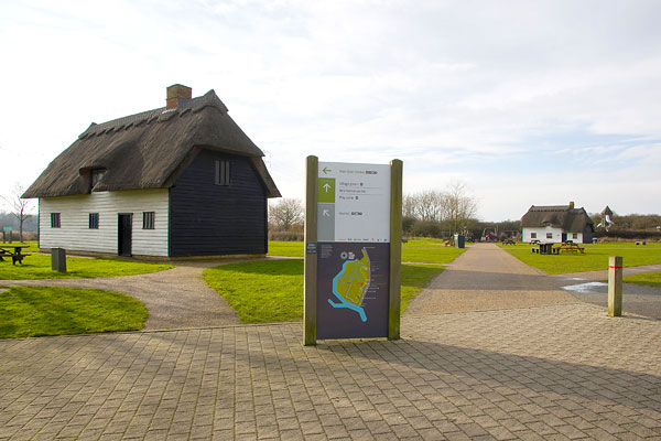 Orientation sign at Wat Tyler Village Green. One of many projects we've delivered at Wat Tyler.