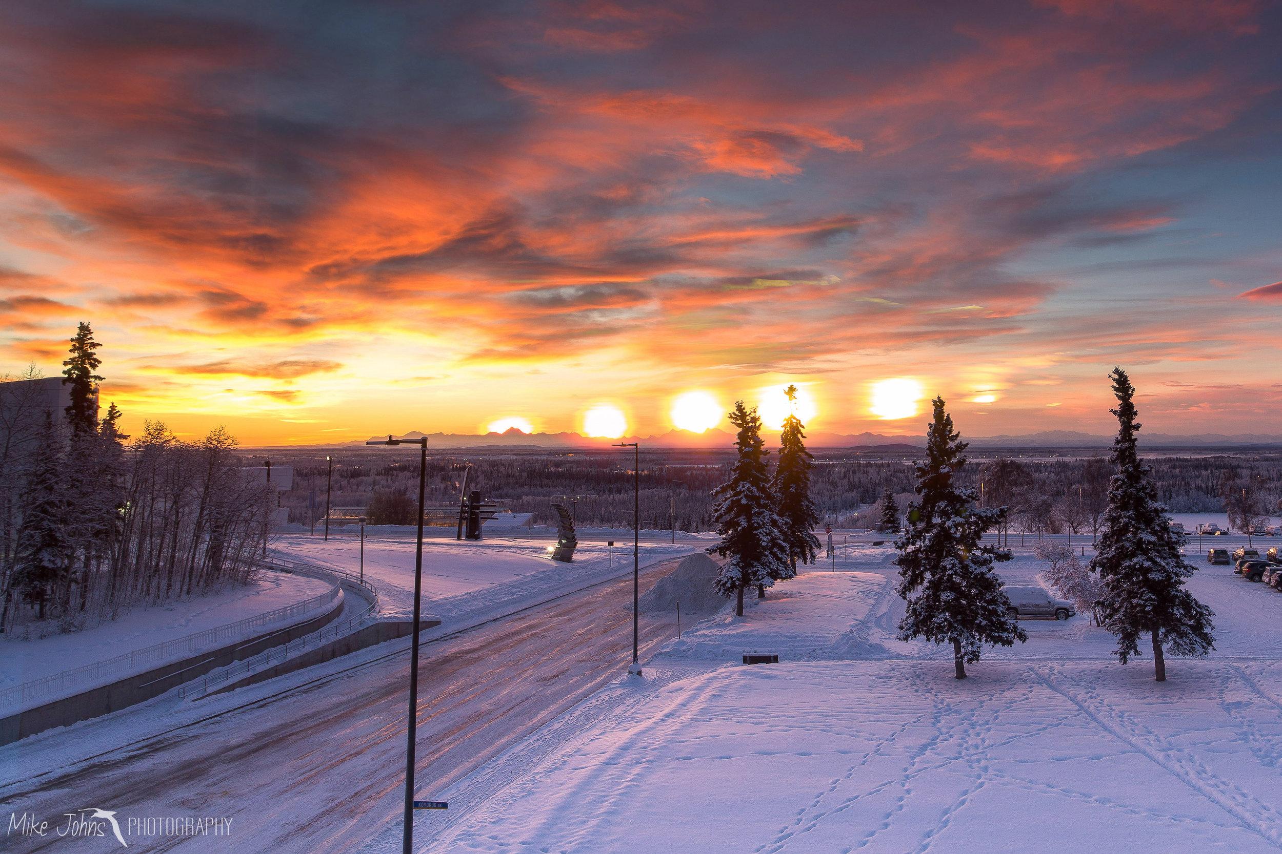 Winter Solstice Fairbanks AK