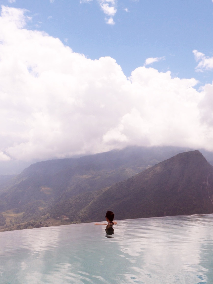 Infinity Pool at Topas Ecolodge