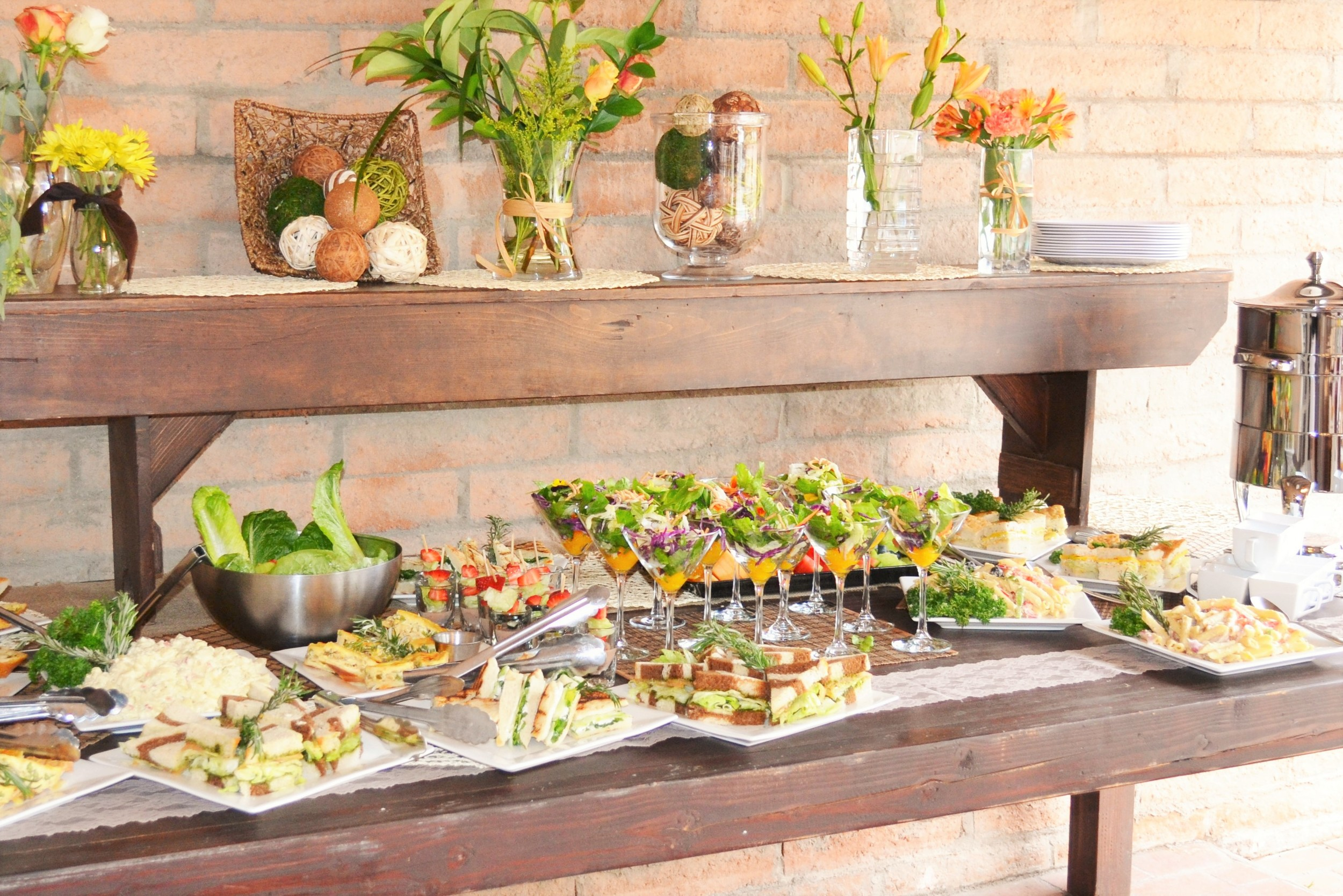 WE'LL TAKE CARE OF THE FOOD; YOU TAKE CARE OF THE FUN   Make your next party a hit with help from Atlasta.