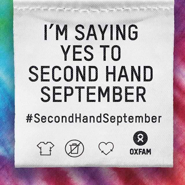 @oxfamgb are running this awesome project this month #SecondHandSeptember  September feels like a new beginning to many, there begins to be a hint of a change of season (although I'm clinging on to sunny days for as long as poss!!) Use this time to declutter and donate your no longer needed items.  Lots of prizes to be won too 👍🙌🏼👍🙌🏼