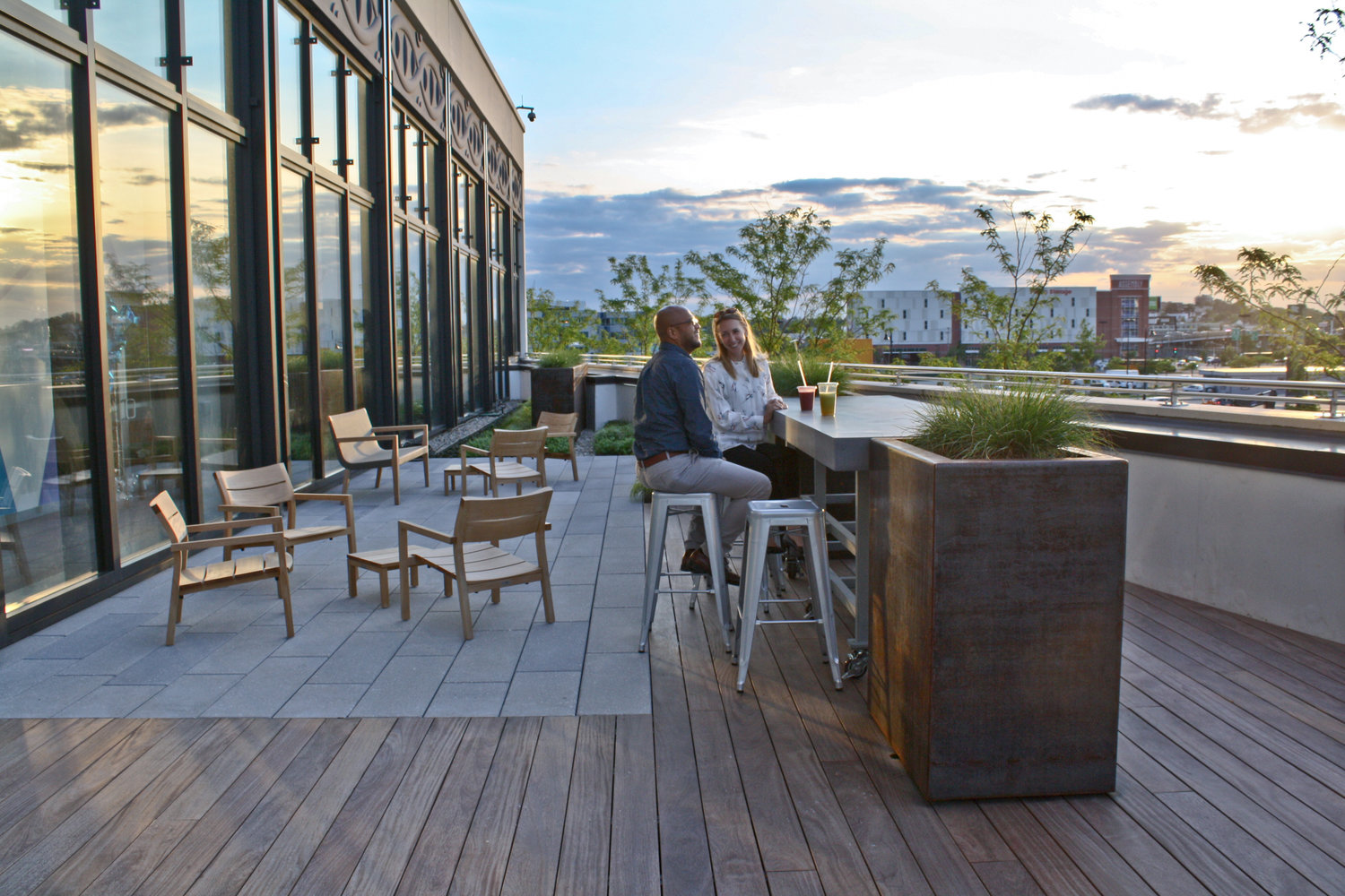 Commercial Recover Green Roofs