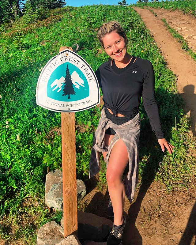 Fun fact about me: when I'm not designing websites or teaching women how to dream big — I hike! 🤓 I didn't hit as many trials this summer as I wanted to due to an ankle injury, but I did get a bit of mileage in at Mount Rainier National Park! 😍 I've backpacked in Zion, the Grand Canyon and Havasupi! 💯 Getting outside always allows me to clear my head and feel closer to my spirituality & purpose. 💓