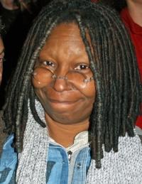 Comedian Whoopi Goldberg