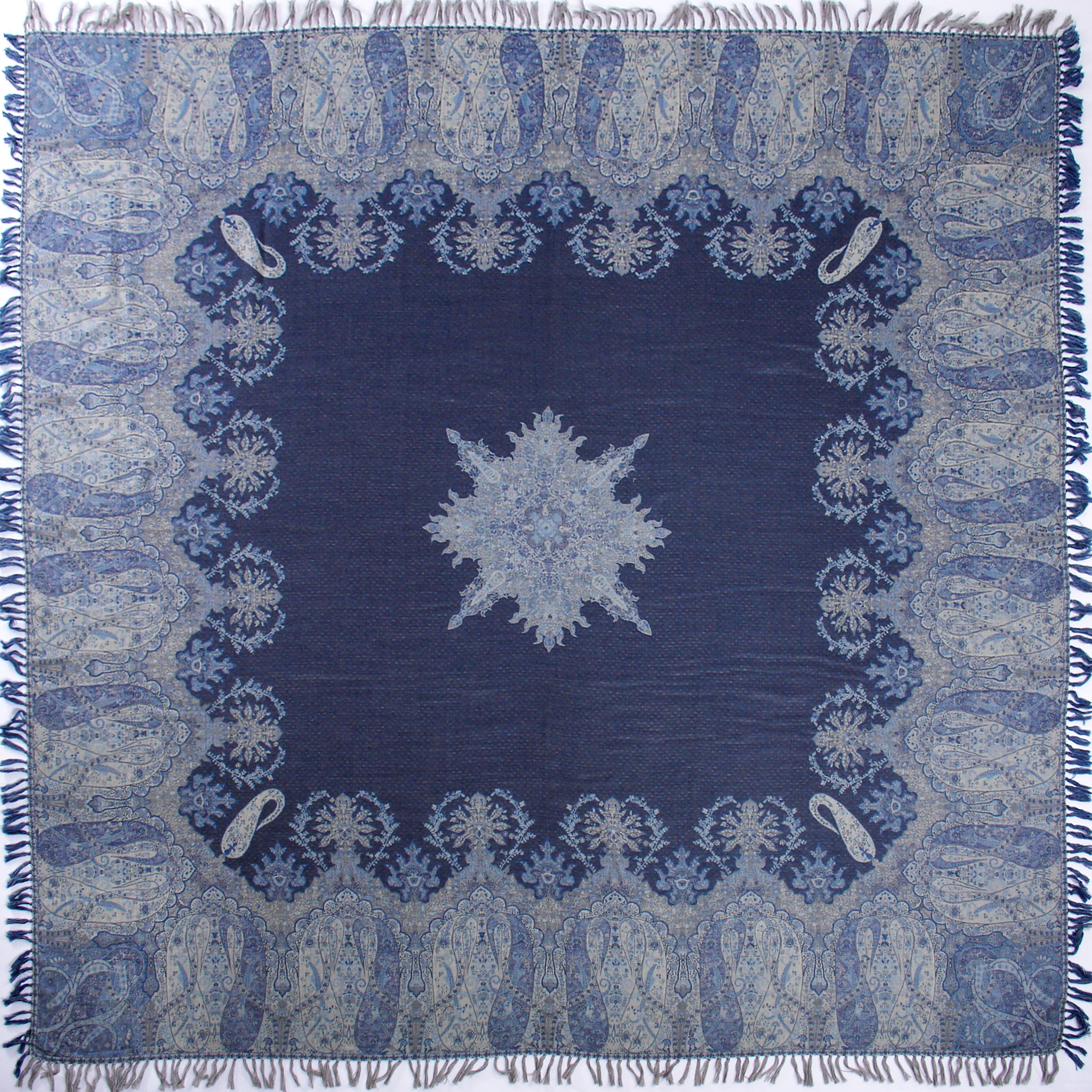 Lillie Blue & Gray Bed Spread front.JPG