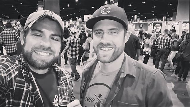 """""""That's gotta be it. You're making a video. You gotta turn it off. Turn it off. Turn it off. Seriously, turn the light off."""" @bradyknip.  Seeing all off the #gabf posts inspired us to #fbf to Tommy and Brady's accidental selfie video. #greatamericanbeerfestival #beerfest #beerfestival #beer #craftbeer #fewbrewsbeerclub #fewbrews #selfie #denverbeer #denvercraftbeer #instabeer #beertography #beergram #cheers #beerfestivals #beerfests #beertrip #beercation"""