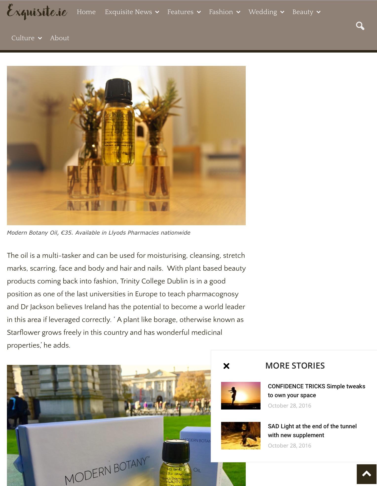 Exquisite.ie online magazine