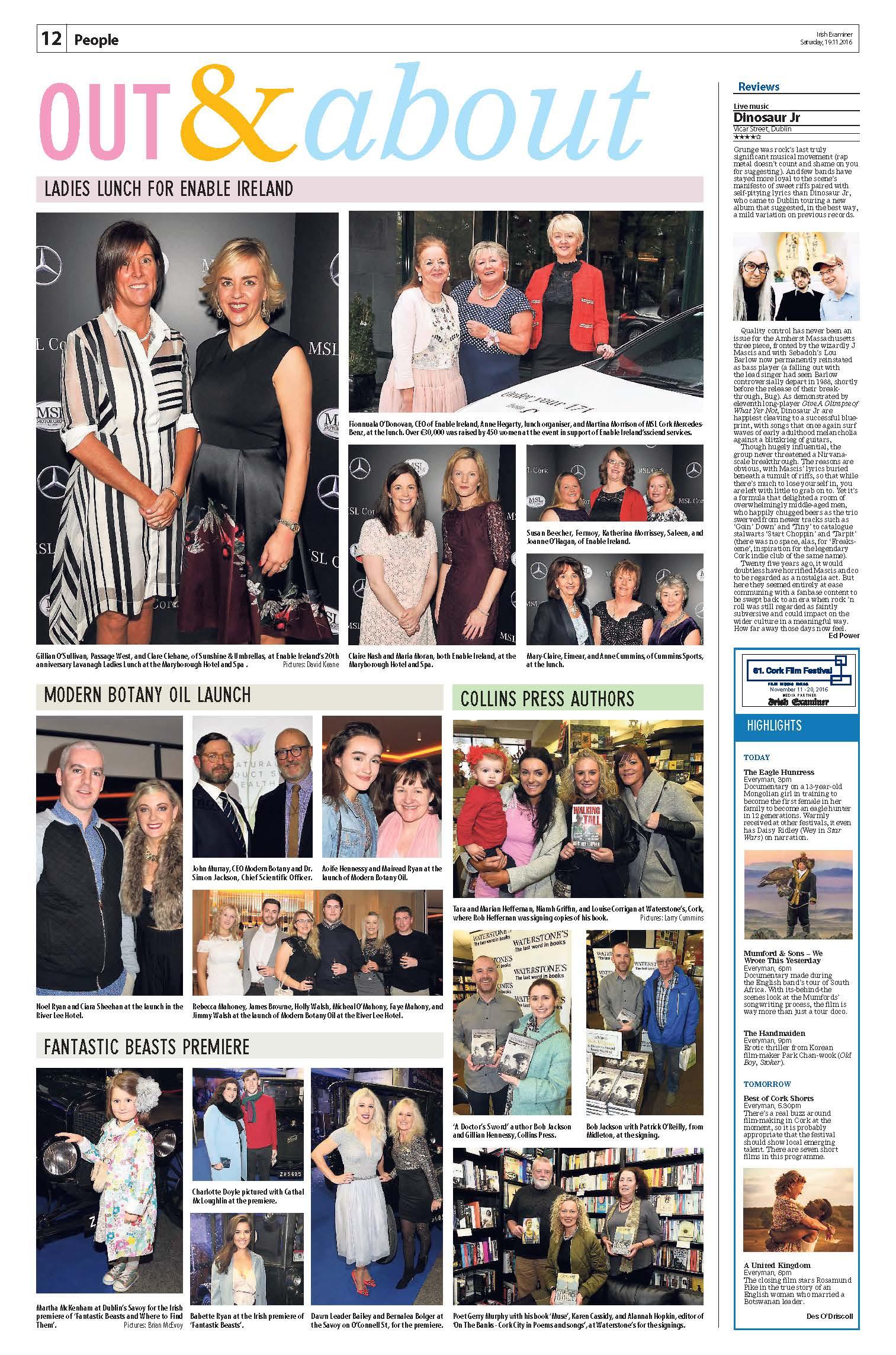 Irish Examiner Product Launch 2016