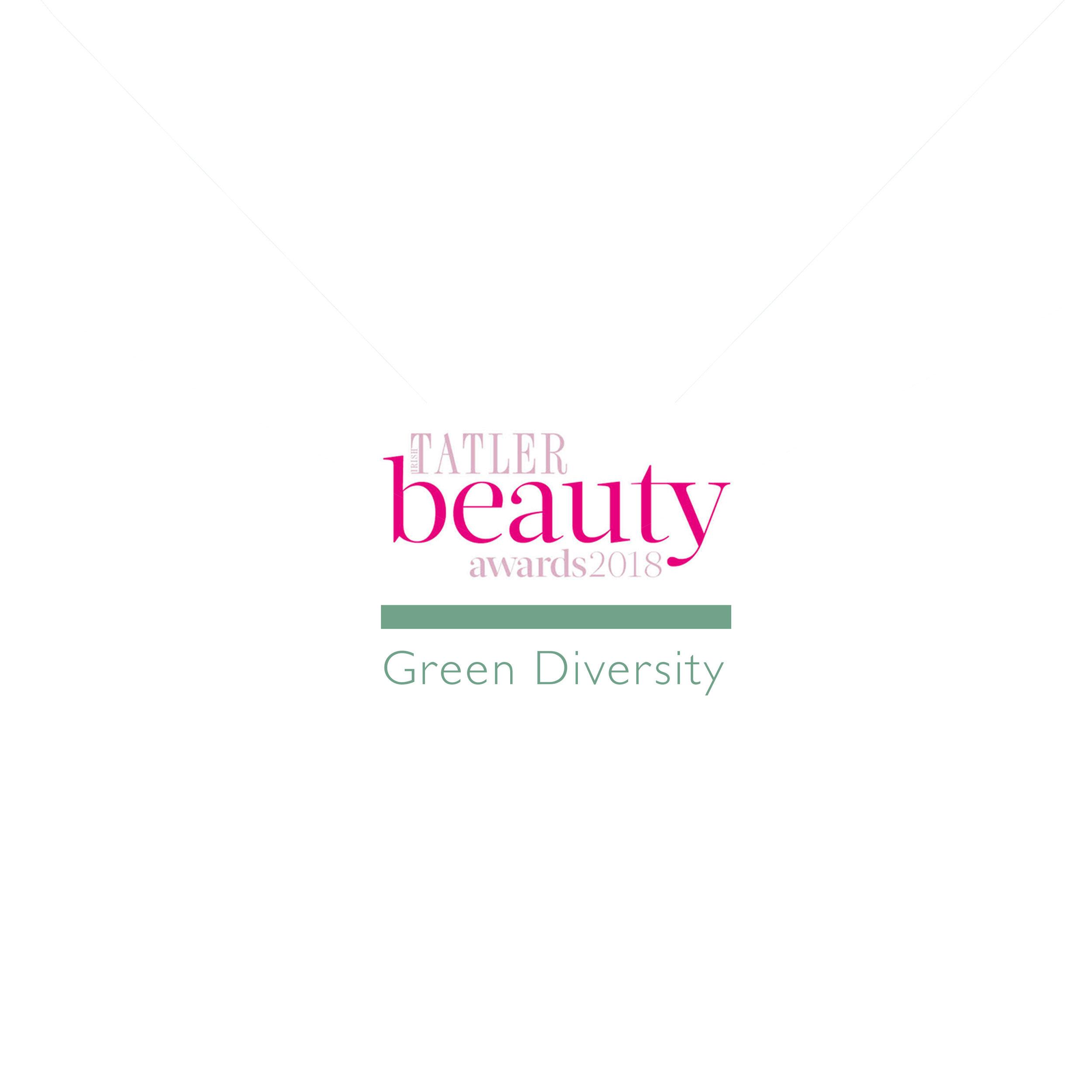 Irish Tatler Green Diversity Award 2018