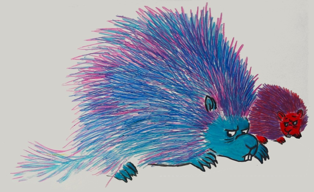 The Porcupine Problem, Monoprint