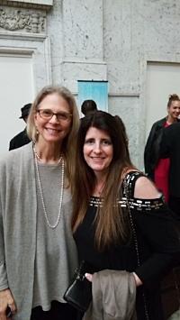 Lindsey Wagner and Kori